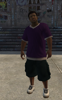 Saints male Thug1-01 - black - character model in Saints Row