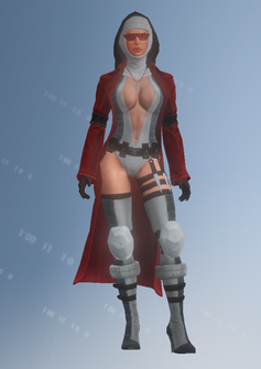 Viola - Bloody Canonness - character model in Saints Row IV