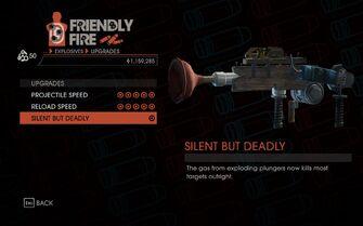 Weapon - Special - Plunger Gun - Upgrades