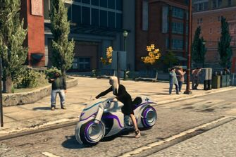 X-2 Phantom - customised - front left in Saints Row The Third