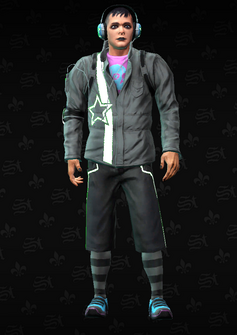 Deckers - emoticon - character model in Saints Row The Third