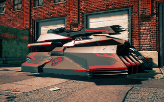 Destructor - front right in Saints Row IV