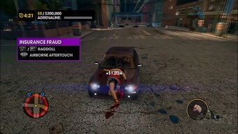 Insurance Fraud tutorial in Saints Row The Third