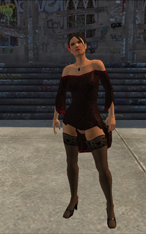 Luz - character model in Saints Row