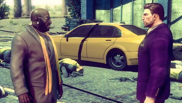 Playa and Ben King in Saints Row IV War for Humanity trailer