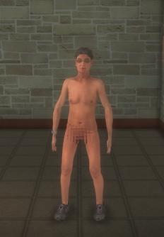 Streaker - FUZZ Shaggin Male - character model in Saints Row 2