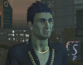 Sykes in Escort cutscene in Saints Row 2