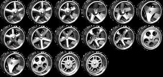 Vehicle Customization - Deep Dish Rims in Saints Row 2