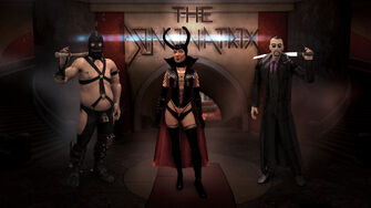 Enter the Dominatrix - The Dominatrix, Dom, and Donnie