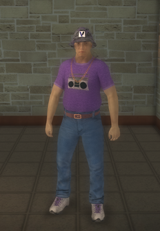 Gang Customization - 80s - male soldier - asian