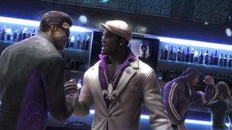 Gat, Pierce, and Angel in the Saints Row The Third Power CG trailer