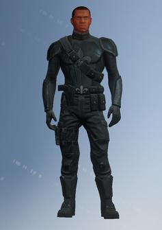 Pierce - Saints team 6 - character model in Saints Row IV