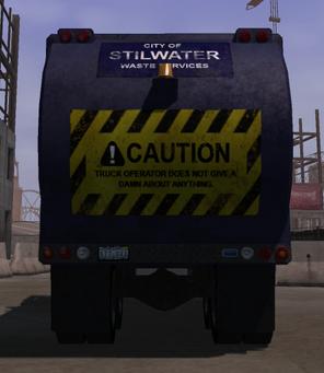 Stilwater Municipal - rear in Saints Row