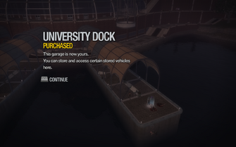 University Dock purchased