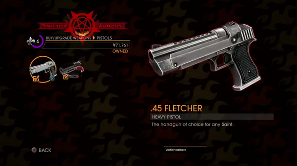 GOOH halloween livestream - Weapon - Pistol - Heavy Pistol - .45 Fletcher