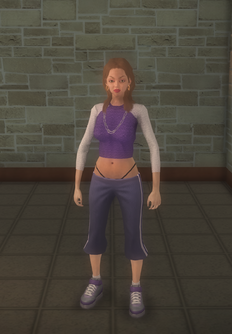 Gang Customization - Sporty - female soldier - white