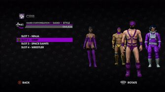 Gang Customization in Saints Row The Third