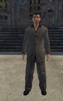Loan Shark - Vinnie - character model in Saints Row