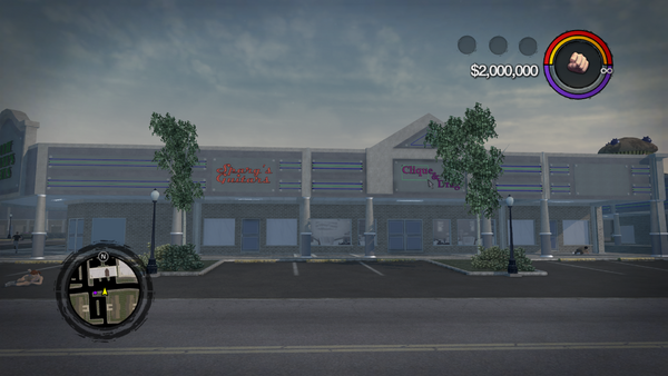 No Lik-a-Chik building in Saints Row 2
