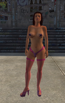 Stripper - Latina - pasty - character model in Saints Row