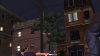 The Streets of Stilwater - background opposite crash scene