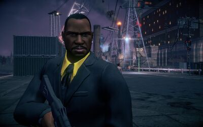 Benjamin King Saints Row model in Saints Row IV