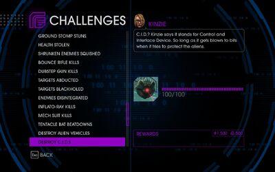 Challenge 54 Destroy CIDs