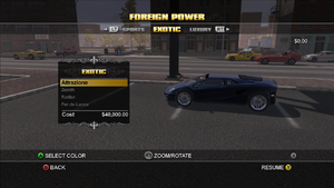 Foreign Power in Saints Row - Attrazione