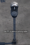 Improvised Weapon - single parking meter