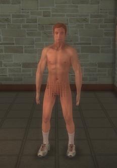 Streaker - athletic - character model in Saints Row 2