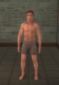 Streaker japan - athletic - character model in Saints Row 2