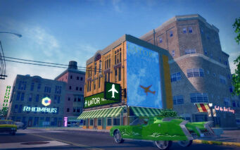 Sunsinger in Saints Row 2 - LaTOR travel
