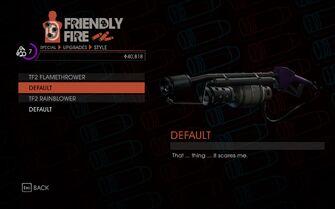 Weapon - Melee - Incinerator - TF2 Flamethrower