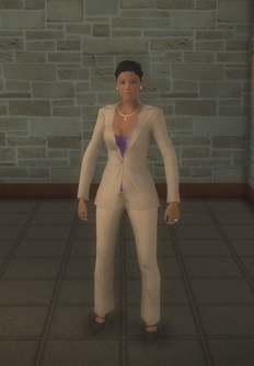 Aisha - character model in Saints Row 2
