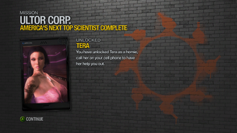 America's Next Top Scientist - rewards - Tera