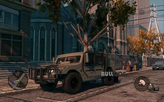 Bulldog - Military - front left with logo in Saints Row The Third