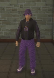 Gang Customization - 80s - male lieutenant - asian