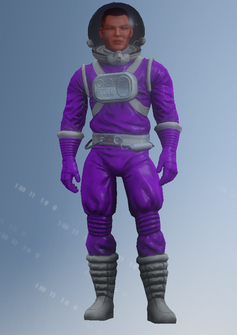 Gang Customization - Space Saints 4 - Spacesuit - in Saints Row IV