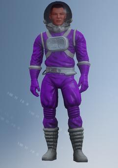 Gang Customization - Space Saints 4 - Spacesuit - in Saints Row IV