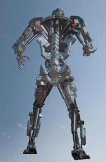 Murderbot rear