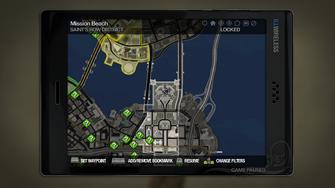 Secret Area - Phillips Building Roof on map