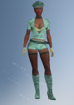 Stripper06 - Melissa - character model in Saints Row IV