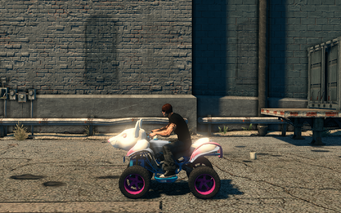 Verminator - left in Saints Row The Third