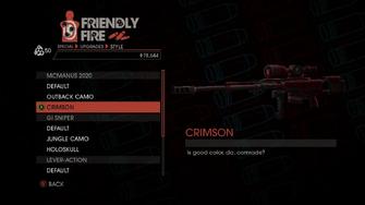 Weapon - Special - Sniper Rifle - McManus 2020 - Crimson