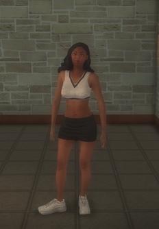 Cheerleader - black generic - character model in Saints Row 2