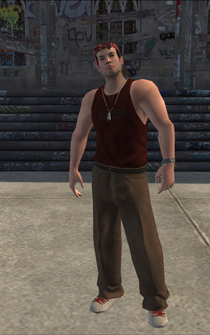 Los Carnales male Thug1-01 - white - character model in Saints Row