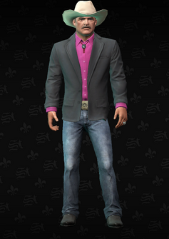 Mayor Reynolds - character model in Saints Row The Third