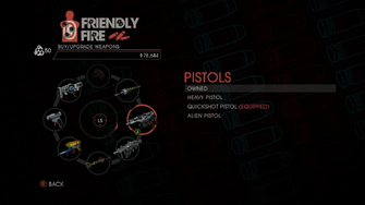 Weapon - Pistols - Menu