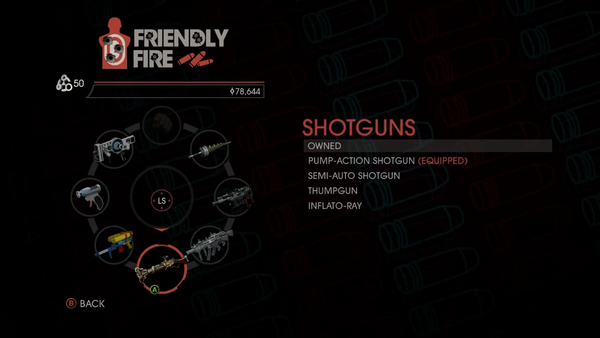 Weapon - Shotguns - Menu