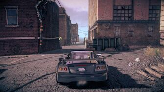Attrazione - rear in Saints Row IV